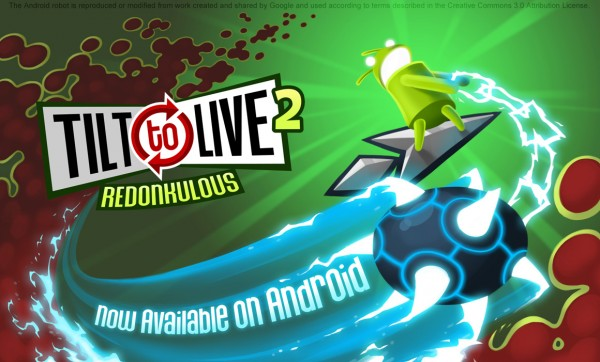 Tilt to Live 2: Now available on Android!