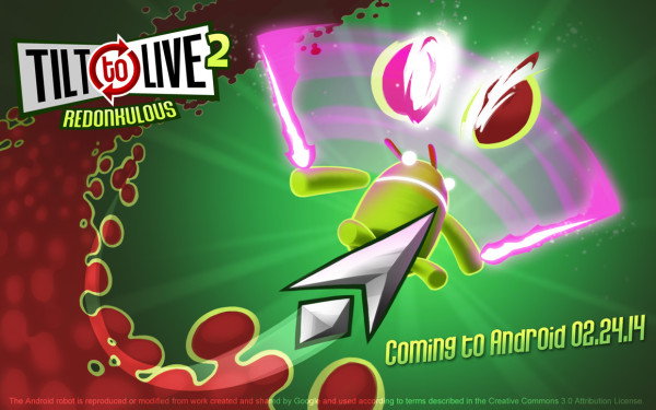 Tilt to Live 2 is coming to Android!