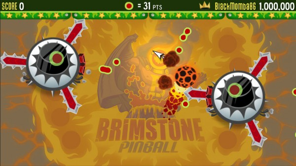 Brimstone Pinball Giant Bumper Baddies