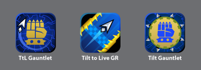 Tilt to Live: Gauntlet's Revenge icons