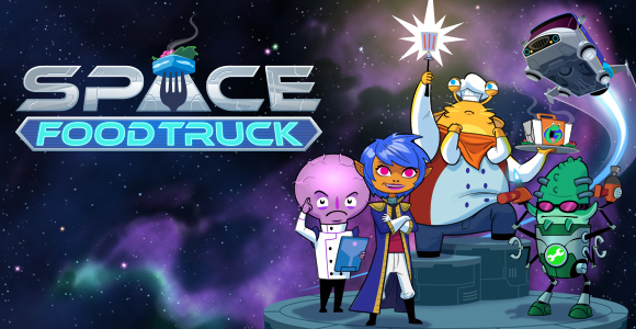[iPad] Space Food Truck: A cooperative board game by One Man left