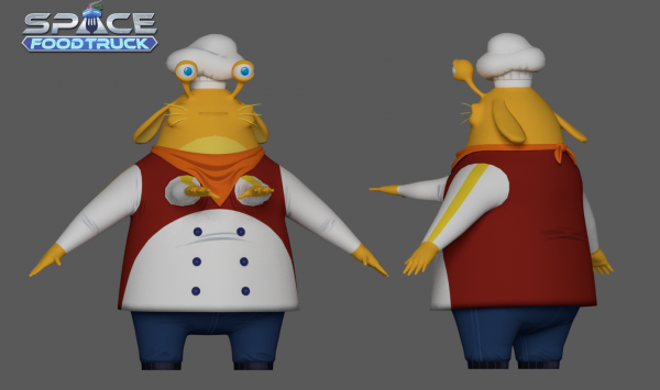 3d Chef Textured