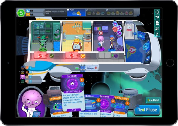 space food truck ipad