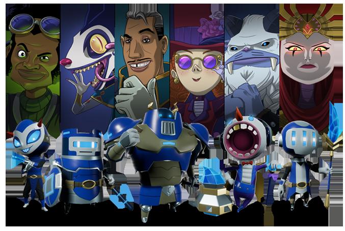 Hex Gambit Characters
